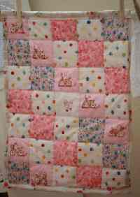 Doll  Quilt Pattern on Doll Quilt